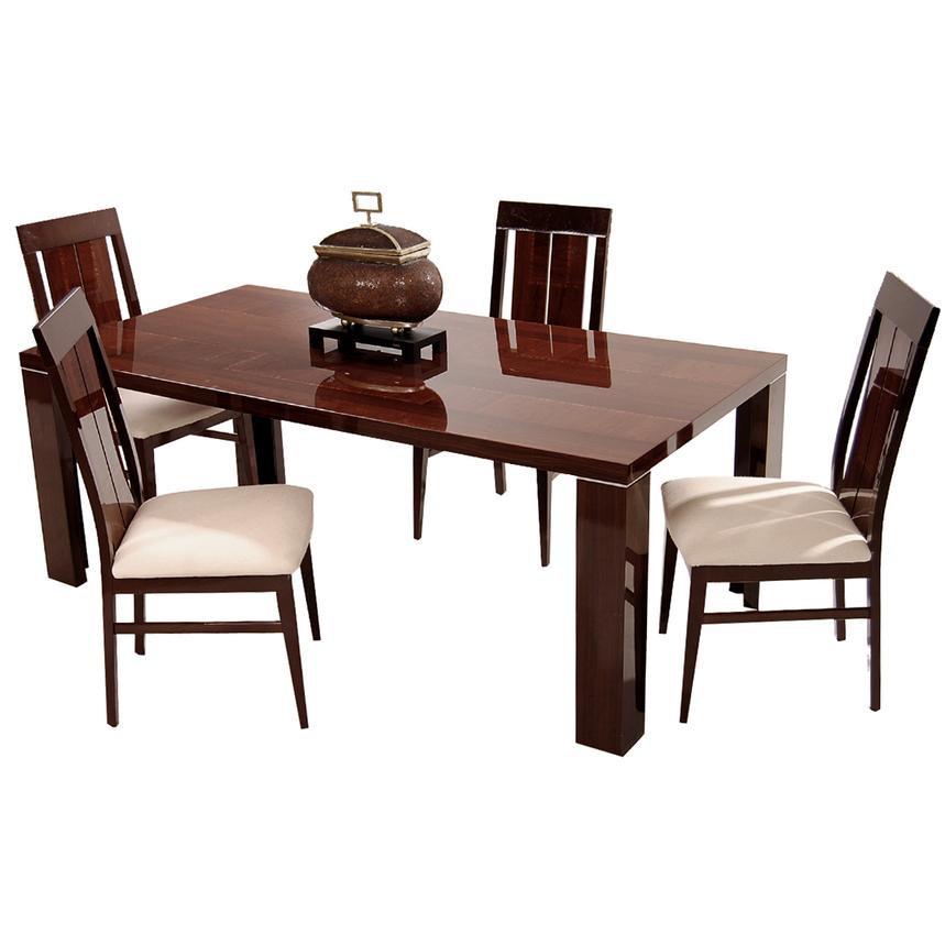 Pisa 5-Piece Formal Dining Set Made in Italy  main image, 1 of 13 images.