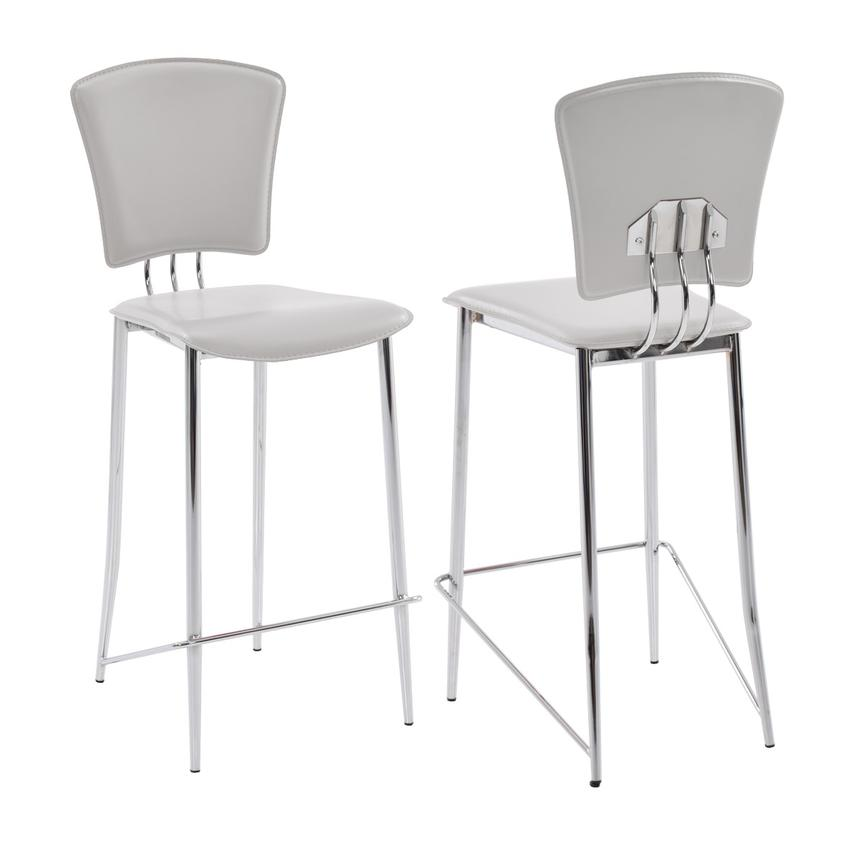 New Tracy White Counter Stool  main image, 1 of 6 images.