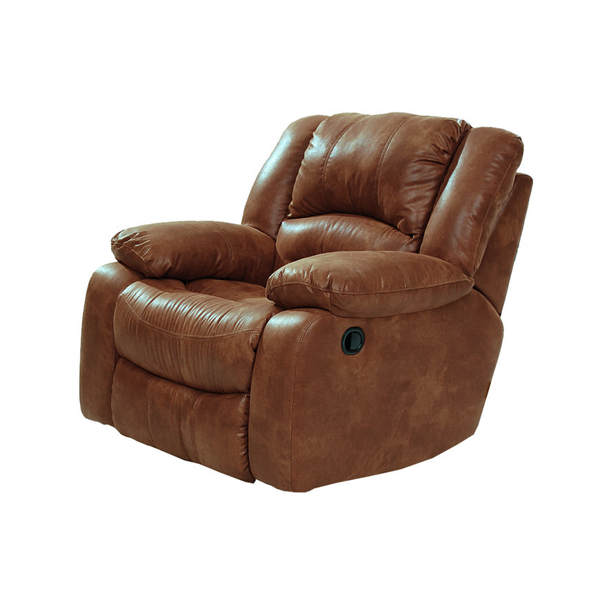Wrangler Tan Swivel Glider Recliner  main image, 1 of 5 images.