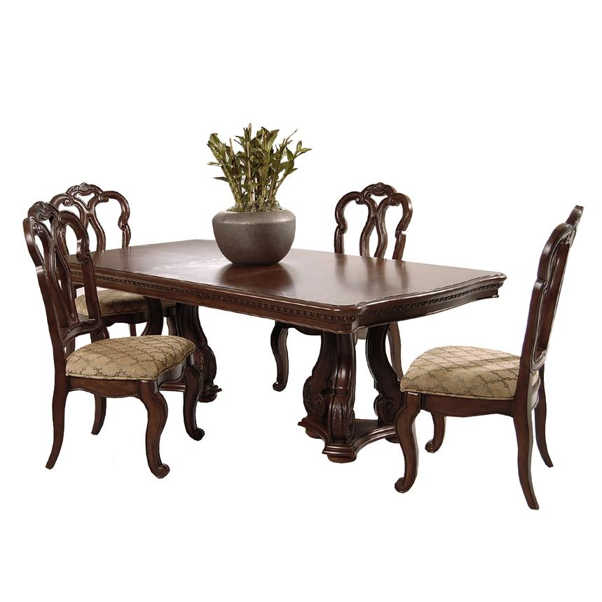 San Marino 5-Piece Formal Dining Set  main image, 1 of 11 images.