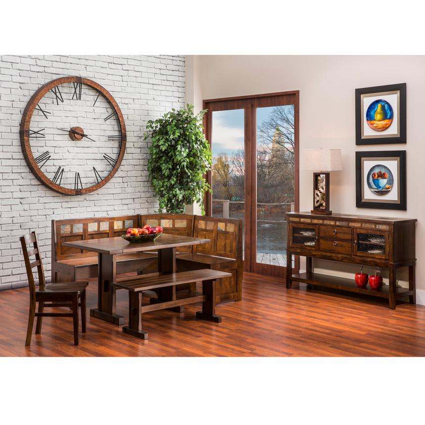 Santa Fe 5-Piece Casual Dining Set  alternate image, 2 of 10 images.