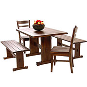 Santa Fe 5-Piece Casual Dining Set  main image, 1 of 11 images.