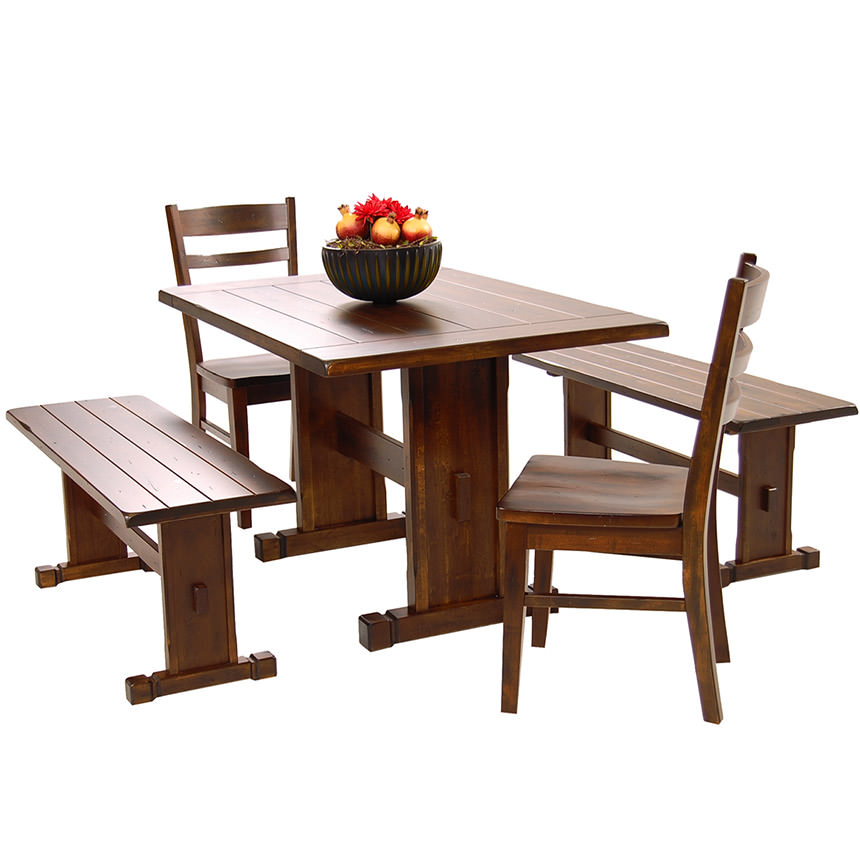 Santa Fe 5 Piece Casual Dining Set Main Image, 1 Of 11 Images.