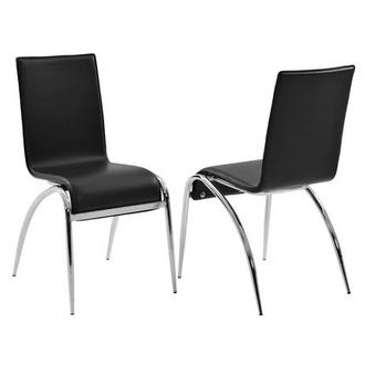 Elaine Black Side Chair