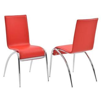Elaine Red Side Chair