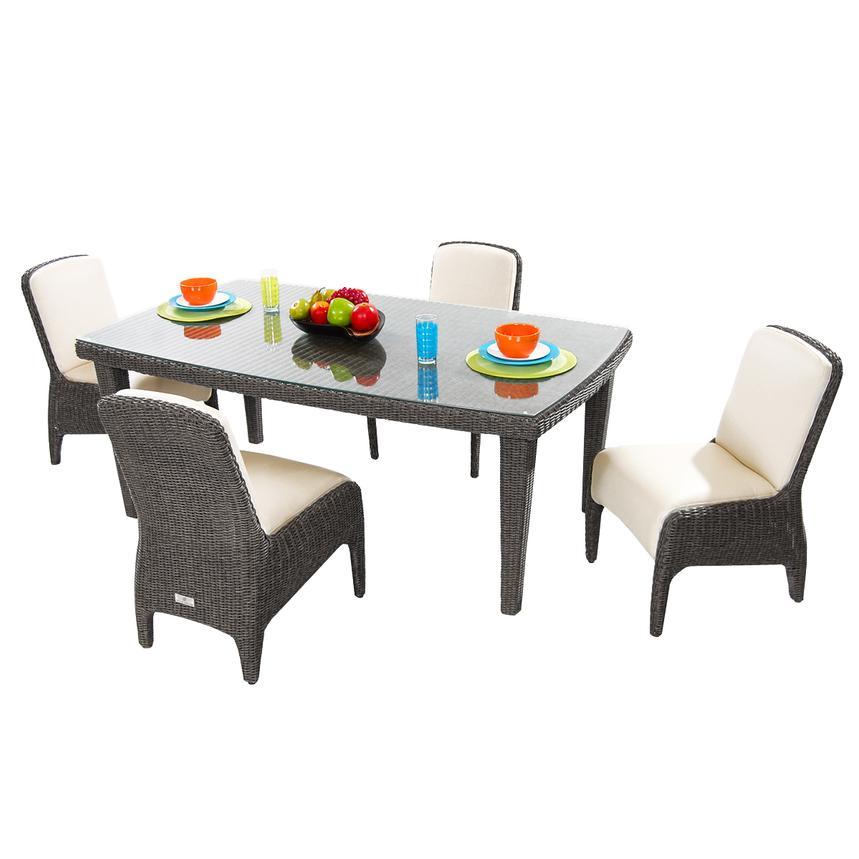 Luxor 5 Piece Patio Set El Dorado Furniture
