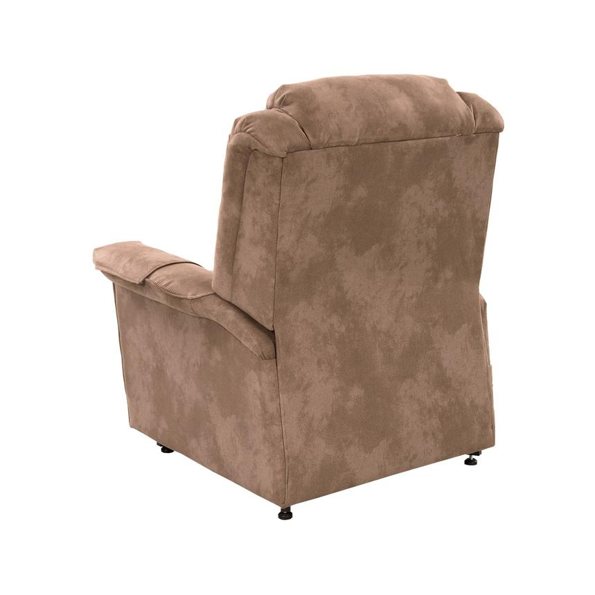 Soother Light Brown Power-Lift Recliner by Catnapper  alternate image, 6 of 9 images.