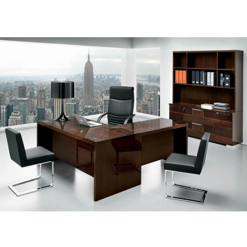 Pisa Executive Desk Made In Italy El Dorado Furniture