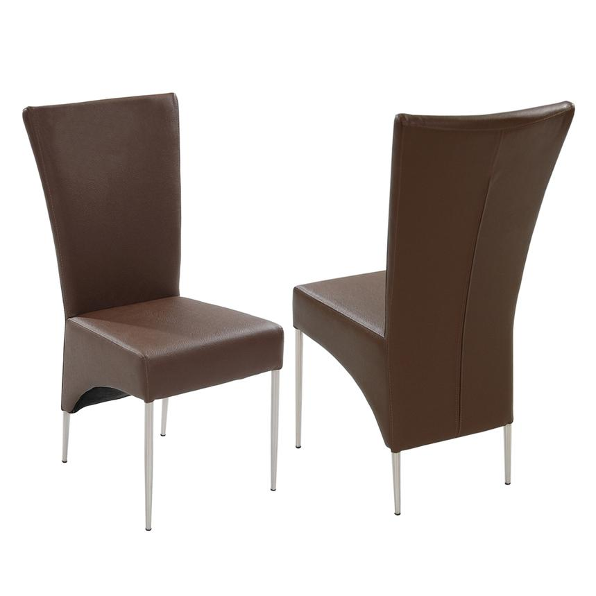 T-Brown Side Chair  main image, 1 of 6 images.