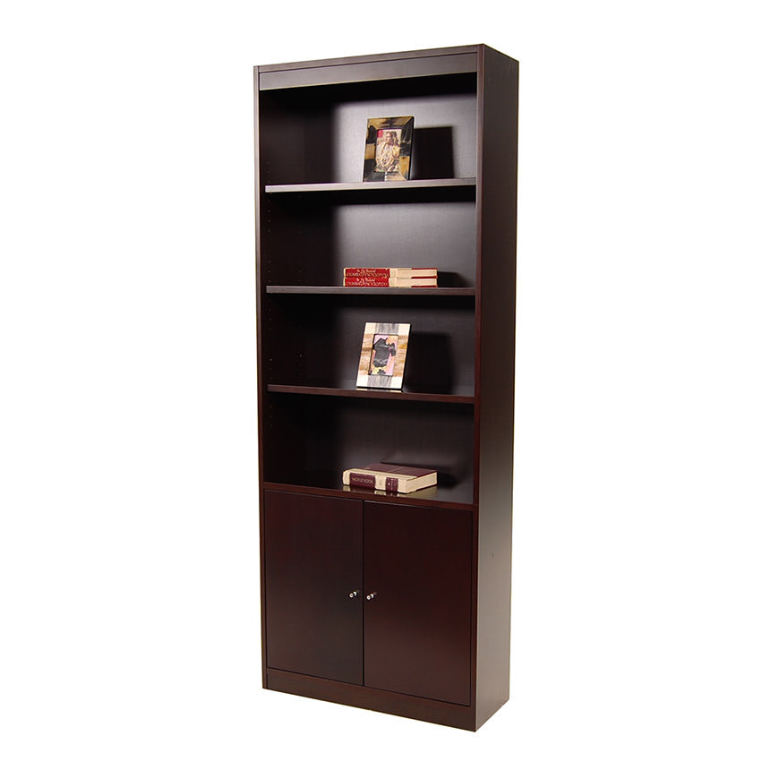 Bellmar Brown Bookcase  main image, 1 of 8 images.