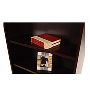 Bellmar Brown Bookcase  alternate image, 4 of 8 images.