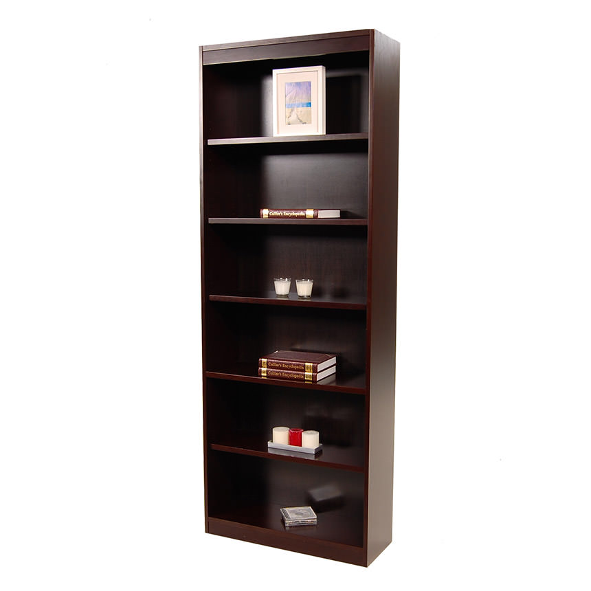 Bellmar Brown Bookcase  main image, 1 of 6 images.