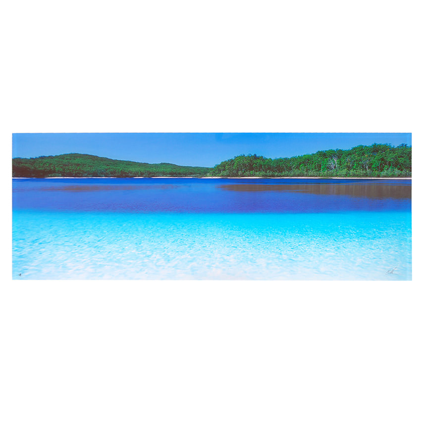 Clear Waters Acrylic Wall Art  main image, 1 of 5 images.