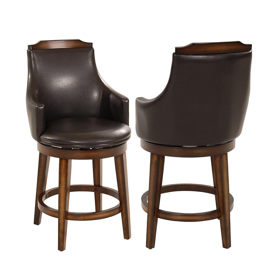 Bayshore Swivel Counter Stool  main image, 1 of 6 images.