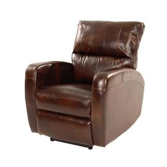 Keegan Brown Power Motion Leather Recliner