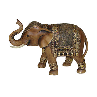 Enchanted Elephant Figure