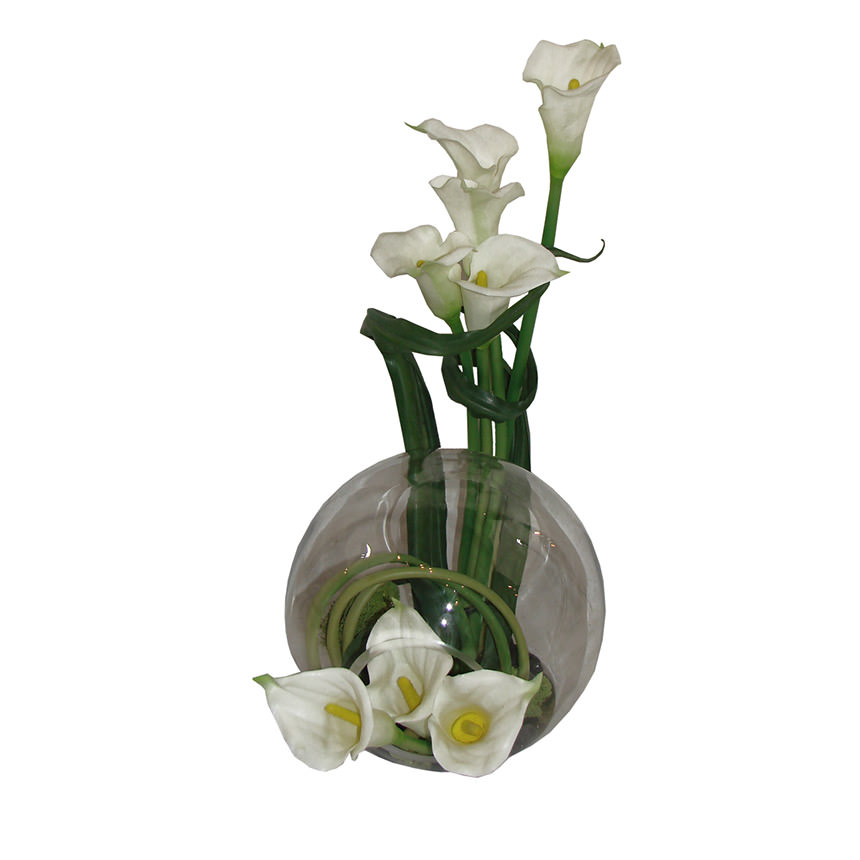 Crosswinds white flower arrangement el dorado furniture crosswinds white flower arrangement main image 1 of 4 images mightylinksfo Image collections