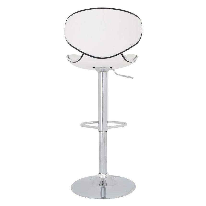 Clipper White Adjustable Stool  alternate image, 6 of 7 images.