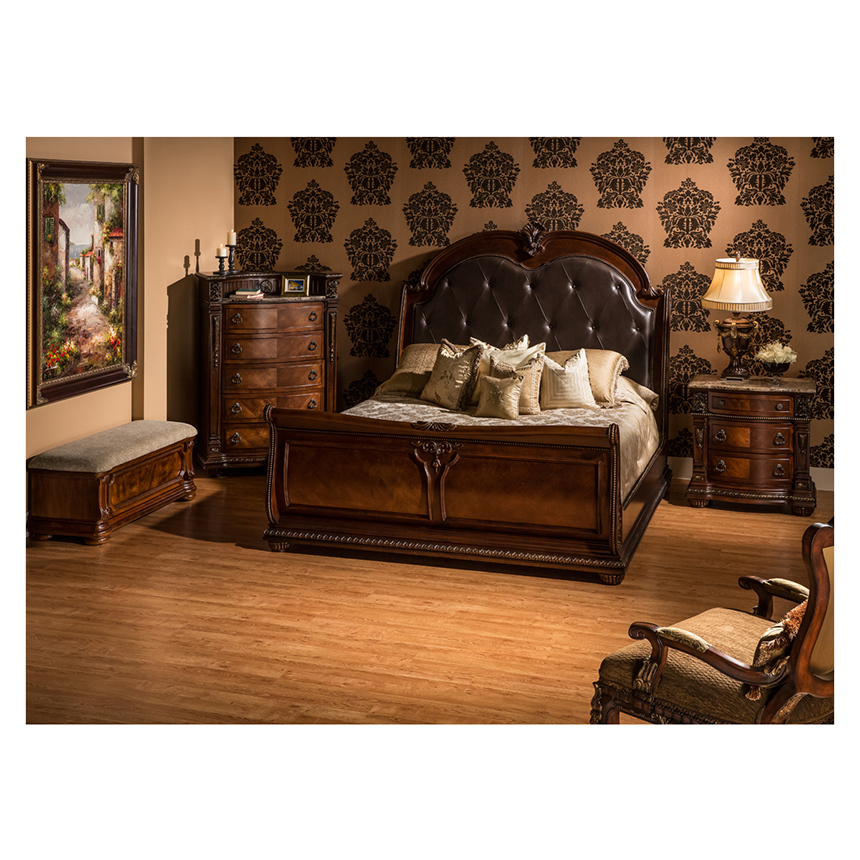 Coventry Tobacco Queen Sleigh Bed Alternate Image, 2 Of 7 Images.