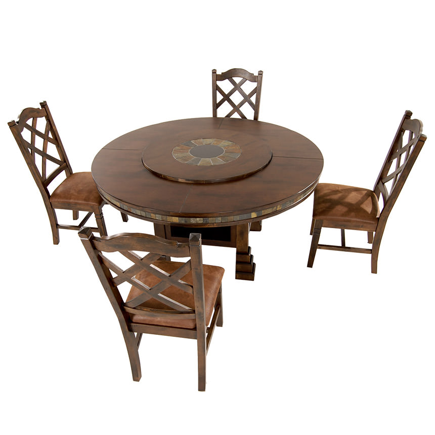 Santa Fe 5-Piece Casual Dining Set  alternate image, 2 of 17 images.