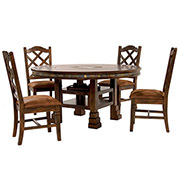 Santa Fe 5-Piece Casual Dining Set  main image, 1 of 17 images.
