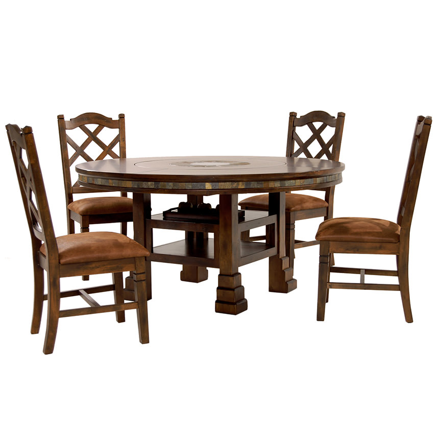 Santa Fe 5-Piece Casual Dining Set  main image, 1 of 16 images.