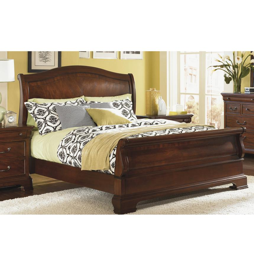 Evolution Queen Sleigh Bed  alternate image, 2 of 7 images.