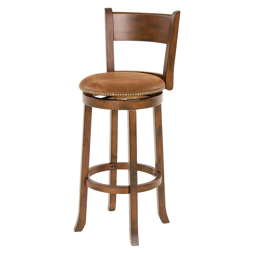 Santa Fe Swivel Bar Stool  alternate image, 2 of 6 images.