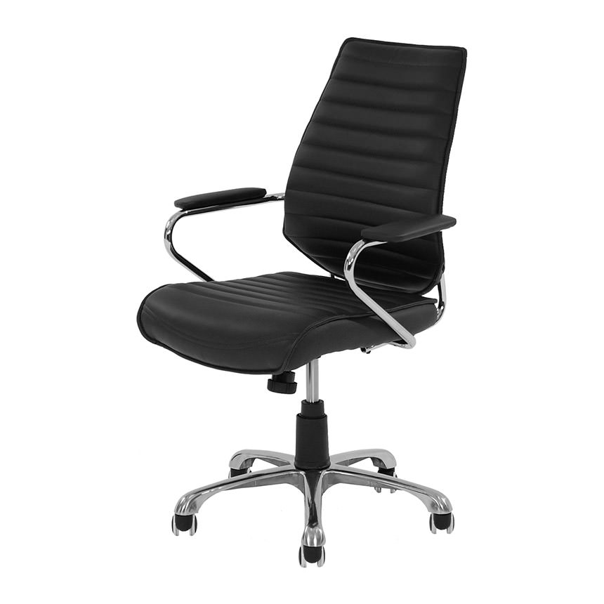 Enterprise Black Desk Chair  main image, 1 of 5 images.