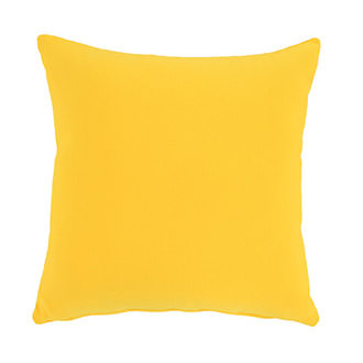Yellow Outdoor Pillow
