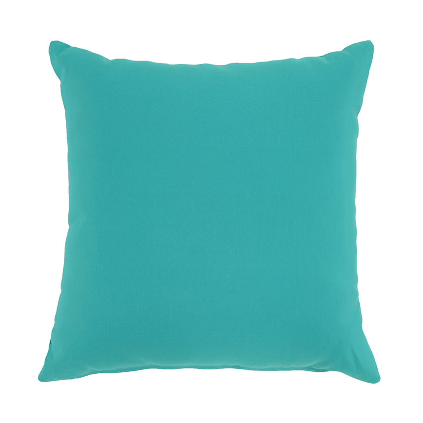 Aqua Outdoor Pillow  main image, 1 of 4 images.