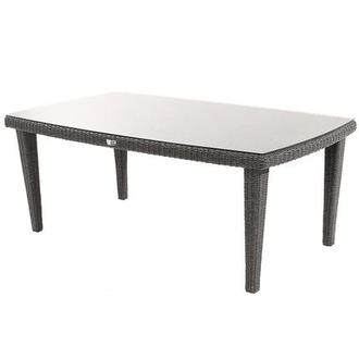 Luxor Brown Rectangular Dining Table