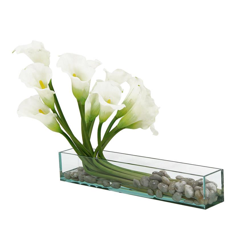 Sarah White Flower Arrangement El Dorado Furniture