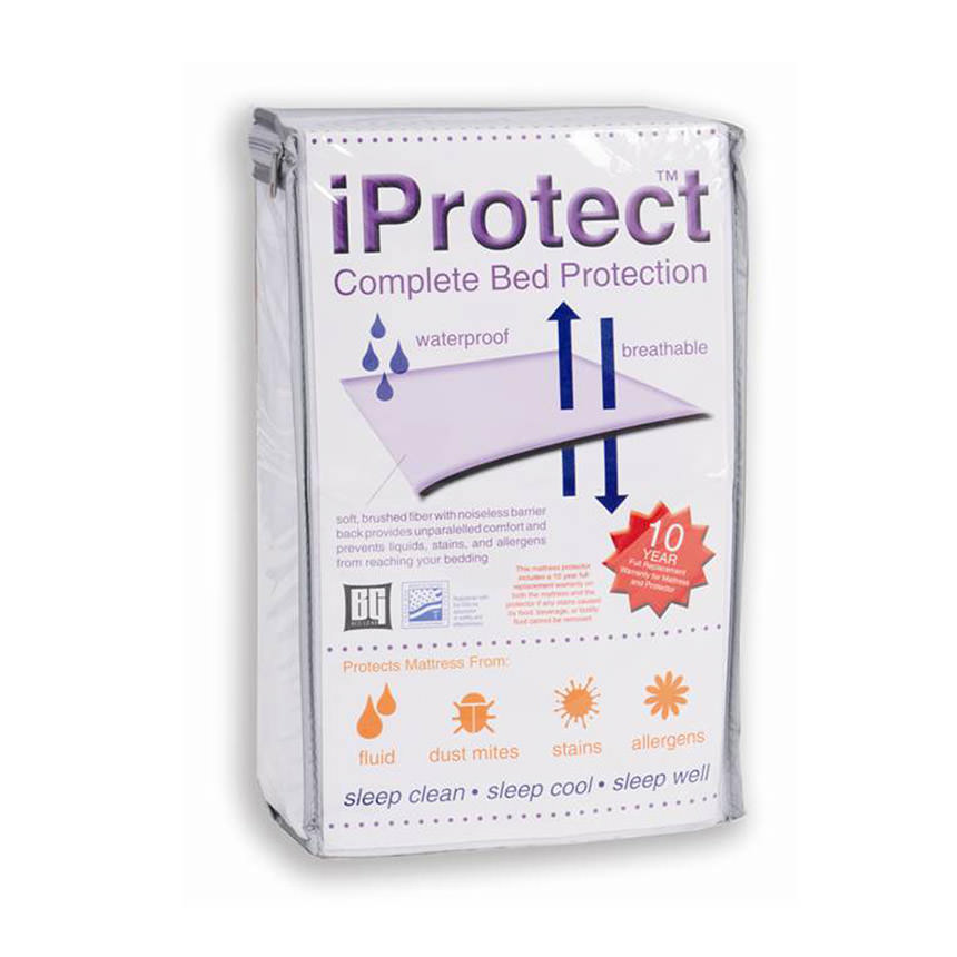 iProtect Queen Mattress Protector  main image, 1 of 3 images.