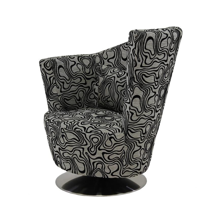 Sasha Swirl Swivel Accent Chair  main image, 1 of 7 images.