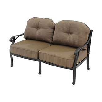 Castle Rock Brown Loveseat