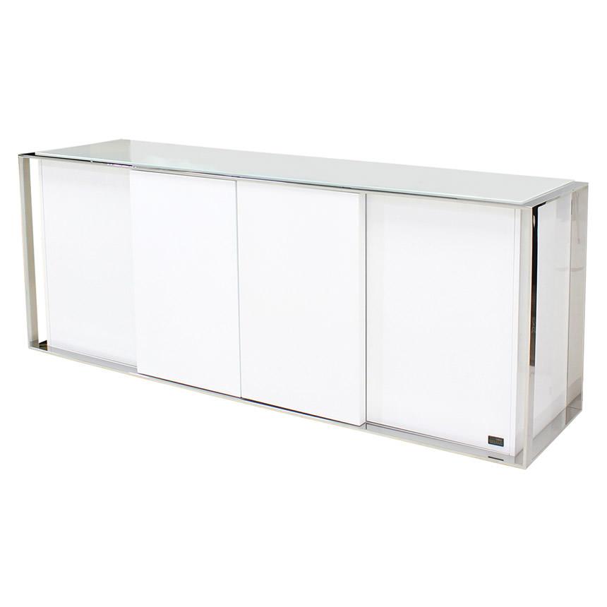 Cecilia white buffet el dorado furniture for Sideboard xenia
