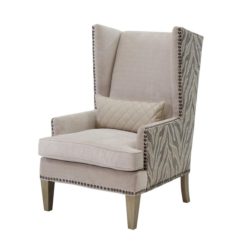 Laura Cream Accent Chair  main image, 1 of 6 images.