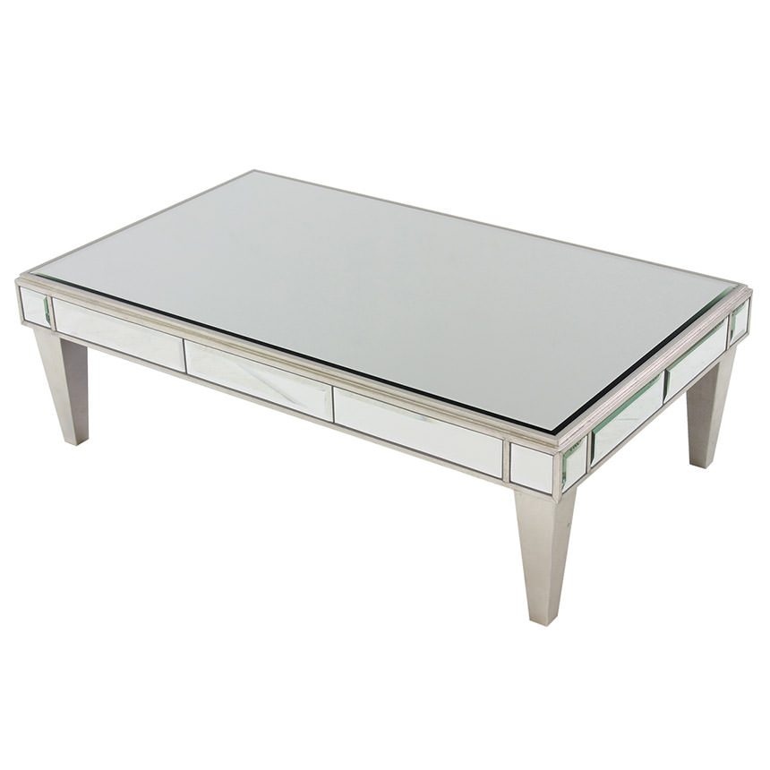 Johanna Mirrored Coffee Table  main image, 1 of 5 images.