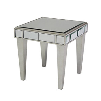 Johanna Mirrored Side Table