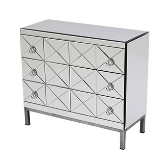 Mildred Mirrored Chest