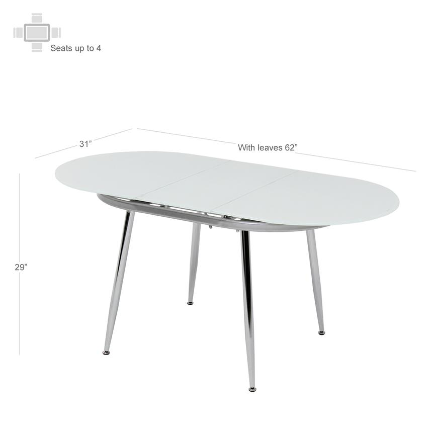 Clotus Extendable Dining Table  alternate image, 2 of 4 images.