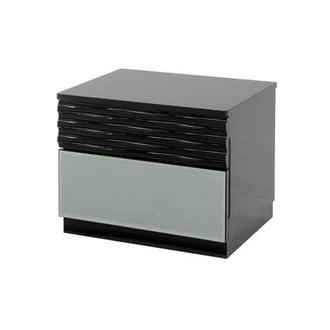 Manhattan Black Nightstand