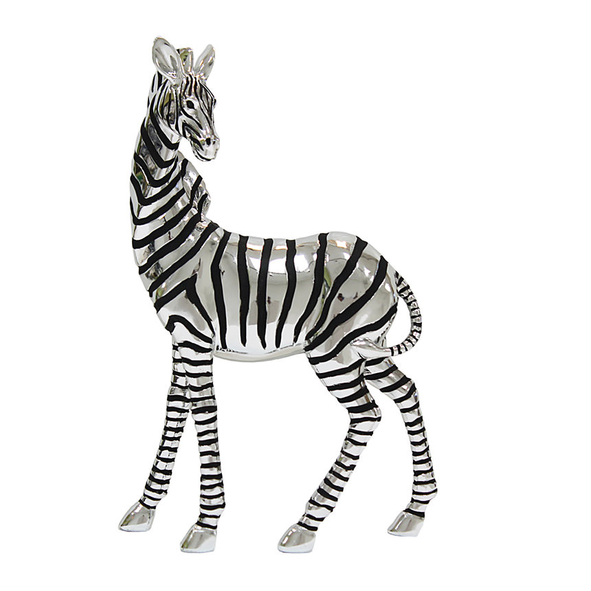 Zebra Sculpture  main image, 1 of 4 images.