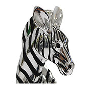 Zebra Sculpture  alternate image, 3 of 4 images.