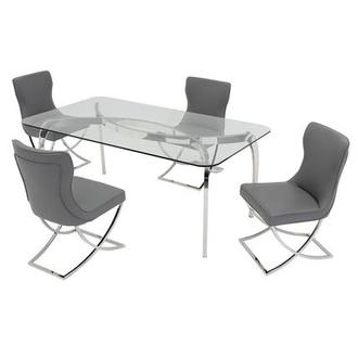 Opera/Amanda Gray 5-Piece Formal Dining Set