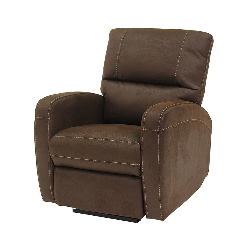 Keelogan Brown Power Motion Recliner  main image, 1 of 8 images.