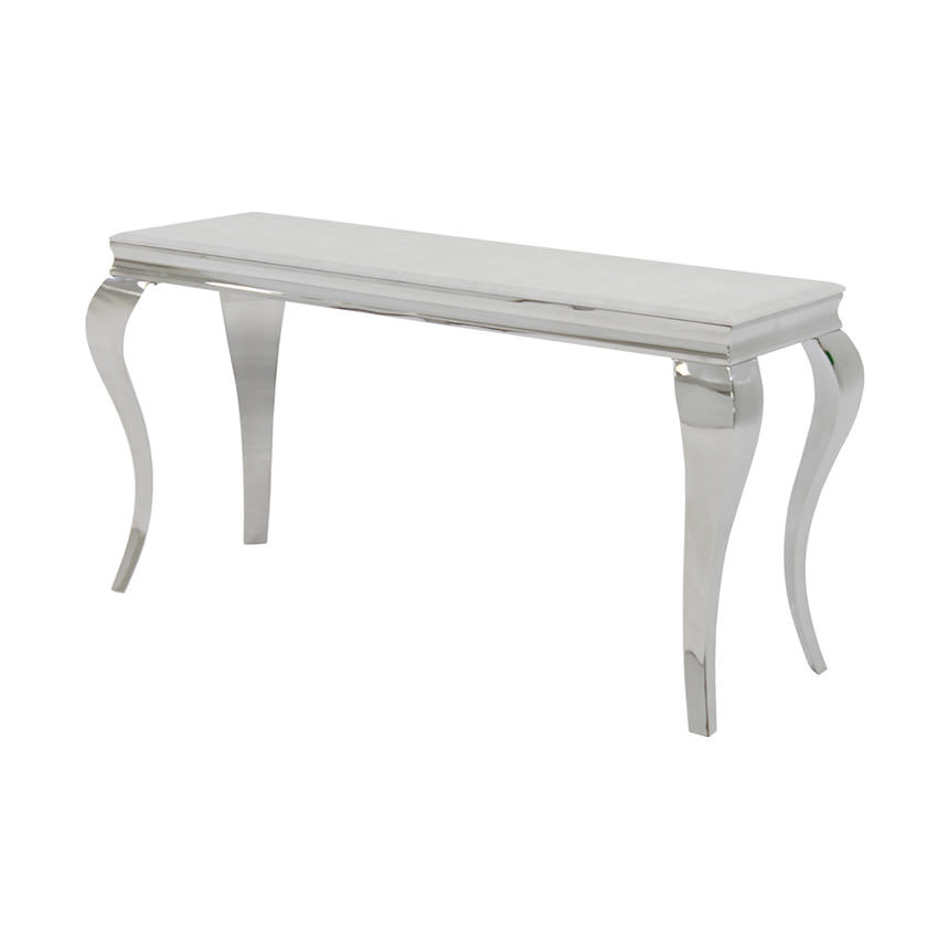 Lizbon White Console Table  main image, 1 of 5 images.