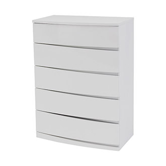 Brighton White Chest