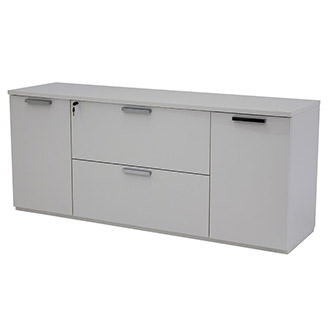 white office credenza. Sedona White Credenza Made In Italy Office